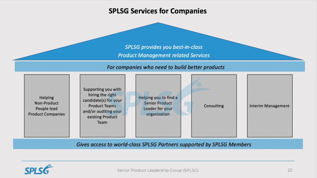 SPLSG Services für Unternehmen