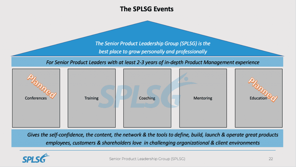 Events SPLSG - graphical overview